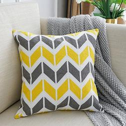 Lananas Modern Decorative Throw Pillow Covers for Couch Geom