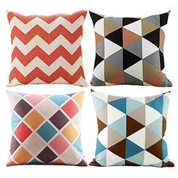 Modern Simple Geometric Style Covers - Wonder4 Colorful Stri