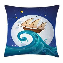 Moon Throw Pillow Cases Cushion Covers Ambesonne Home Decor