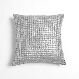 Best Home Fashion Mother of Pearl Pillow - Insert Not Includ