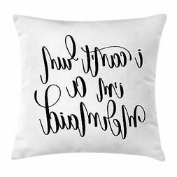 Motivational Throw Pillow Cases Cushion Covers Ambesonne Acc
