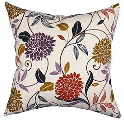 LivebyCare Multi-Sized Both Sides Flower Printing Cushion Co
