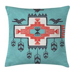 Ambesonne Native American Decor Throw Pillow Cushion Cover,