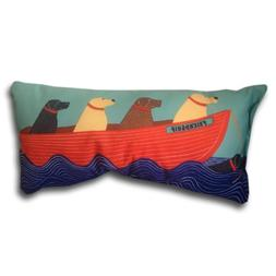 Nautical Decor Throw Pillows Beach House Outdoor Pillows Dog