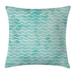 Ambesonne Nautical Throw Pillow Cushion Cover, Soft Pastel C