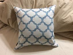 Phantoscope New Living Blue Decorative Throw Pillow Case Cus