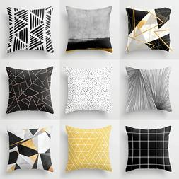 Nordic Modern Geometric <font><b>Throw</b></font> Pillowcase