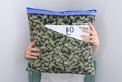 OG Kushion Weed Throw Pillow