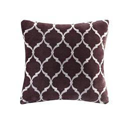 Ogee Square Pillow Purple 20x20