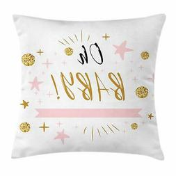Oh Baby Throw Pillow Cases Cushion Covers Home Decor 8 Sizes