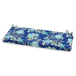 Pillow Perfect Outdoor/ Indoor Daytrip Bench Cushion Blue