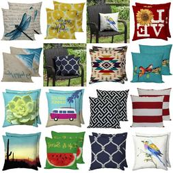 Outdoor Pillows Indoor Throw Pillow Set 2/8 Pcs Nice Garden
