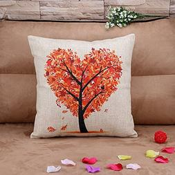 p45 cotton linen thow pillow