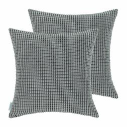 Calitime Pack Of 2 Comfy 26 x 26 Throw Pillow Covers Medium