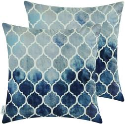 CaliTime Pack of 2 Cozy Throw Pillow Cases Covers for Couch