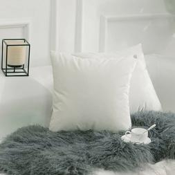 pack of 4 throw pillows insert bed