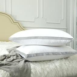 Pack of 4 Throw Pillows Insert Bed and Couch Pillows Pillows