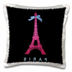3dRose pc_112908_1 Hot Pink Paris Eiffel Tower from France w
