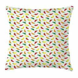 Peppers Pattern Throw Pillow Cases Cushion Covers Home Decor