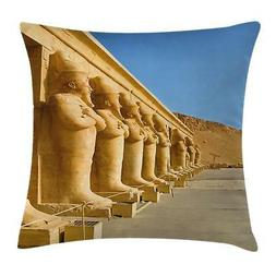 Pillar Throw Pillow Cases Cushion Covers Ambesonne Home Deco