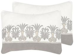 Safavieh Pillow Collection Throw Pillows, 12 by 20-Inch, Roy