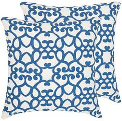 Safavieh Pillow Collection Throw Pillows, 20 by 20-Inch, Mal