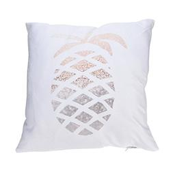 GBSELL Pillow Cover Glitter Print Pillow Case Christmas Fall