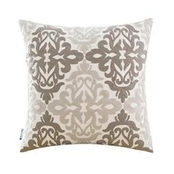 HWY 50 Cotton Embroidered Decorative Throw Pillows Covers fo