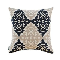 HWY 50 Couch Throw Pillow Covers 18 x 18 inch, Cotton Canvas