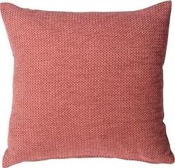 Pillow Decor - Arizona Chenille 20x20 Pink Throw Pillow  - S
