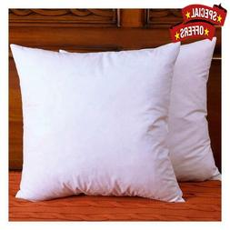 Pillow Inserts Cotton Fabric Throw Pillows Down and Feather