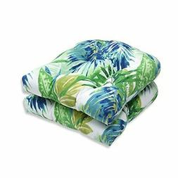 Pillow Perfect Outdoor/Indoor Soleil Wicker Seat Cushion, Se