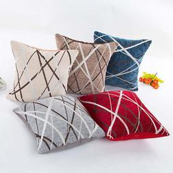 Plush Pillow Sofa Waist Throw Cushion Cover Home Decor,