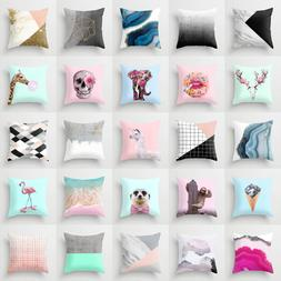 Polyester Cojines throw pillows case sofa official cushion c