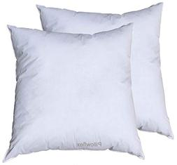 Pillowflex Premium Polyester Filled Pillow Form Inserts - Ma