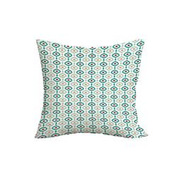 iPrint Polyester Throw Pillow Cushion,Ikat,Colorful Chain Pa