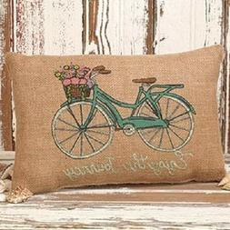 """Pretty Primitive Country Rustic """" ENJOY THE JOURNEY """" Bicycl"""