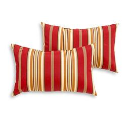 Greendale Home Fashions Rectangle Outdoor Accent Pillows, Se