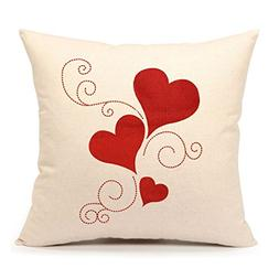 4TH Emotion Valentine's Day Throw Pillow Cover Cushion Case
