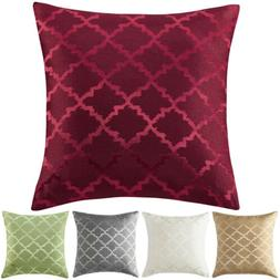 Reversible Printing Throw Pillow Covers Waist Cushion Cover