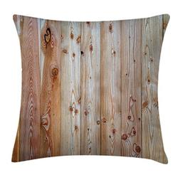 Ambesonne Rustic Home Decor Throw Pillow Cushion Cover by, M