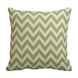 HEBYLUCJB Fashion Sage Green Chevron Zigzag Pattern Decorati