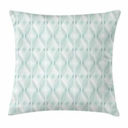 Seafoam Throw Pillow Cases Cushion Covers by Ambesonne Home