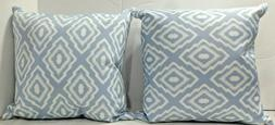 """Set of 2 CORAL COAST """"Marcy"""" Outdoor Throw Pillows, 17"""" x 17"""