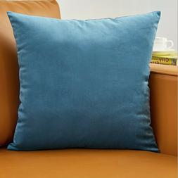 set of 2 throw pillow case cover