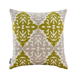 HWY 50 Sofa Throw Pillow Covers 18 by 18 inch, A Piece Cotto