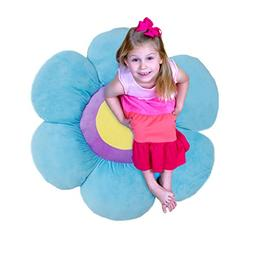 Floor Pillow or Decorative Pillow in Adorable Flower Shape a