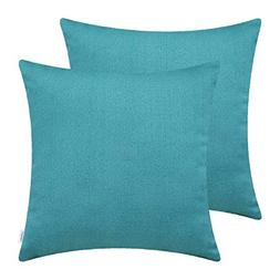 CaliTime Pack of 2 Soft Throw Pillow Covers Cases for Couch
