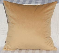 TangDepot Solid Velvet Throw Pillow Cover/Euro Sham/Cushion