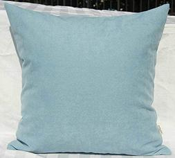 TangDepot Solid Wool-like Throw Pillow Cover/Euro Sham/Cushi